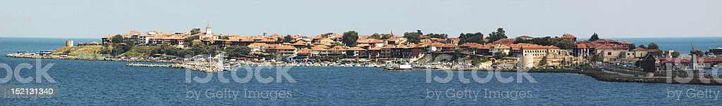 Old Nesebar island - Bulgarian unesco heritage site royalty-free stock photo