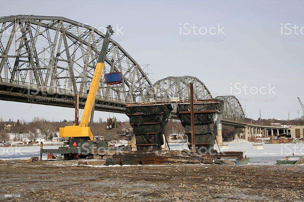 Old- New Bridge stock photo