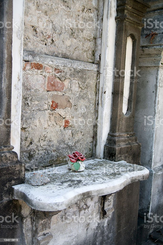 Old New Orleans Tomb royalty-free stock photo
