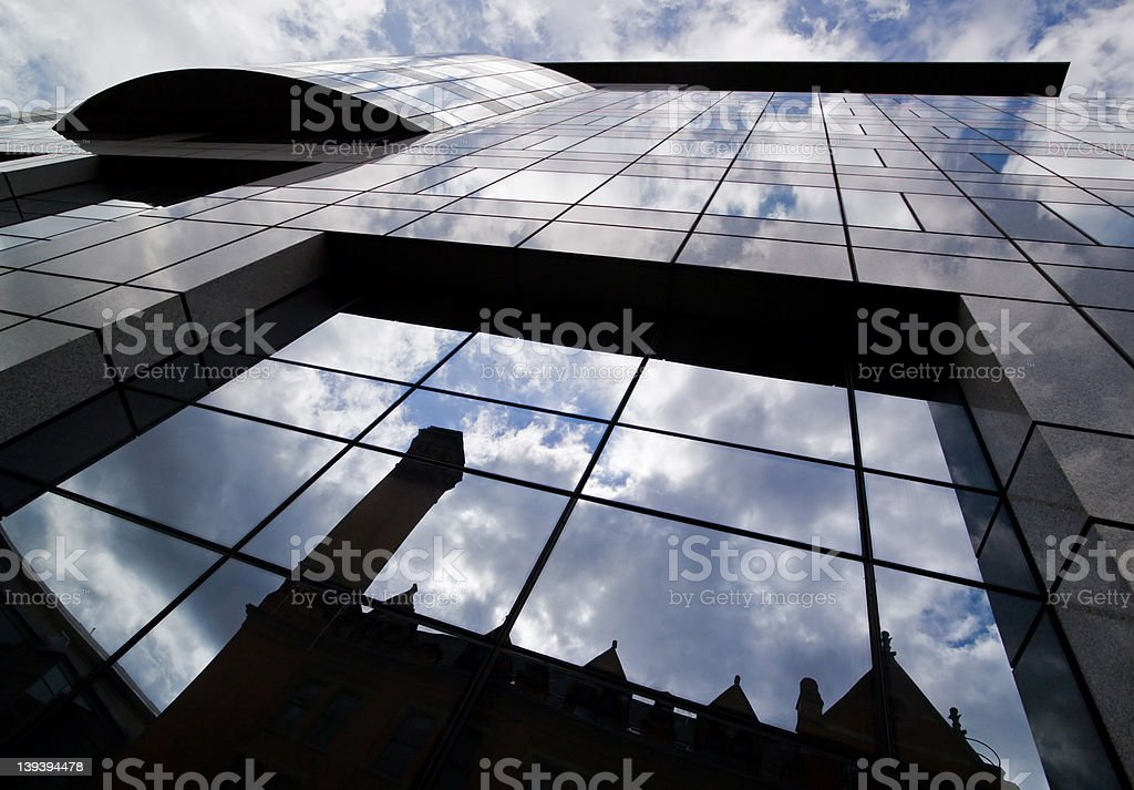 Old & New royalty-free stock photo