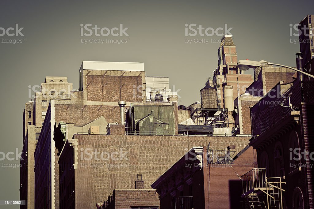 old new york royalty-free stock photo