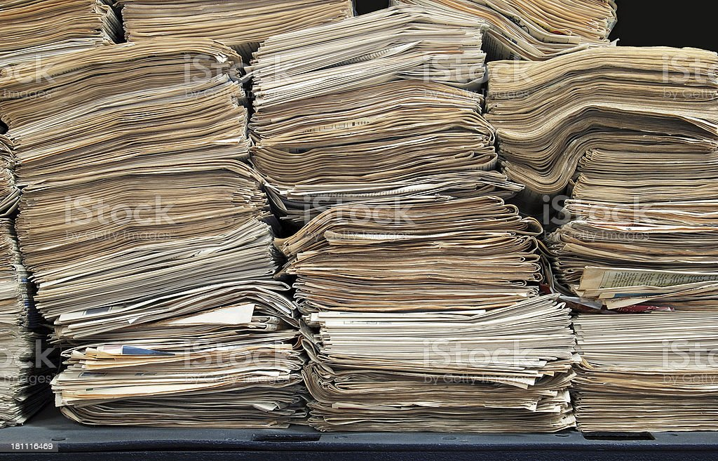 Old Newspaper royalty-free stock photo