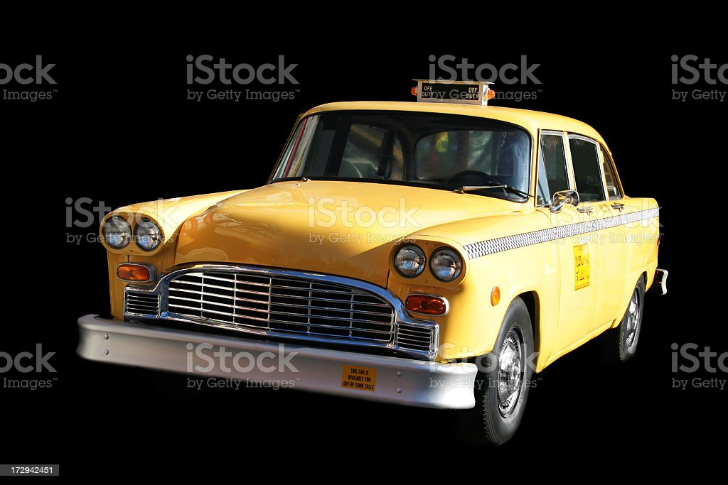 Old New-York Cab stock photo