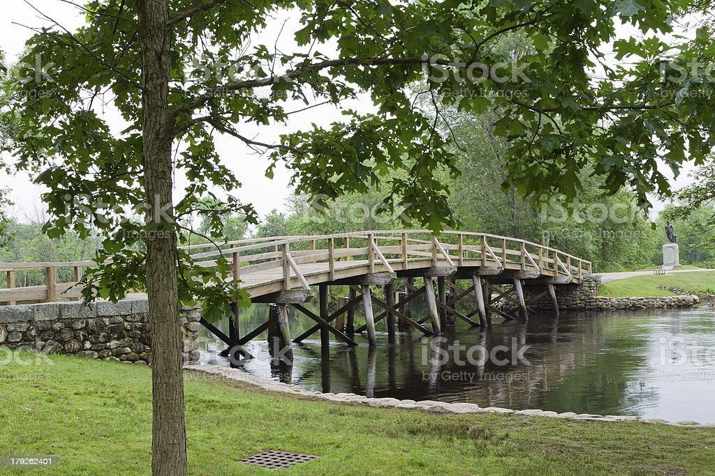 Old North Bridge royalty-free stock photo