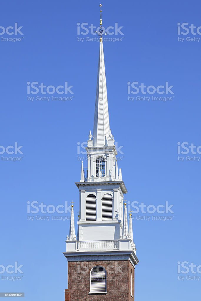 Old North Church royalty-free stock photo