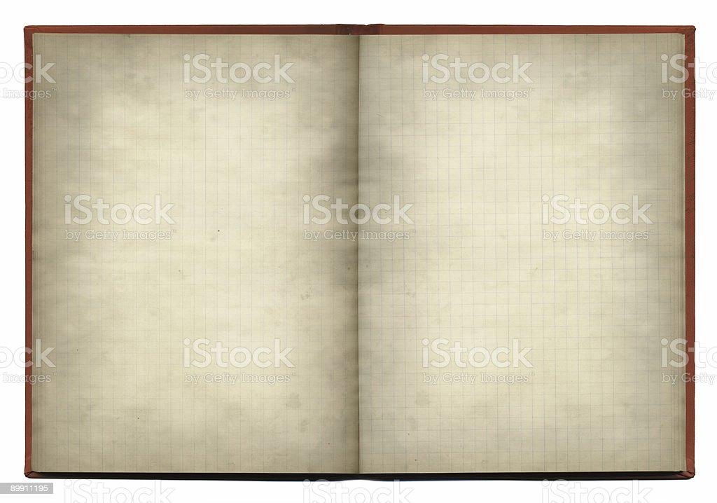 old notebook XXL stock photo