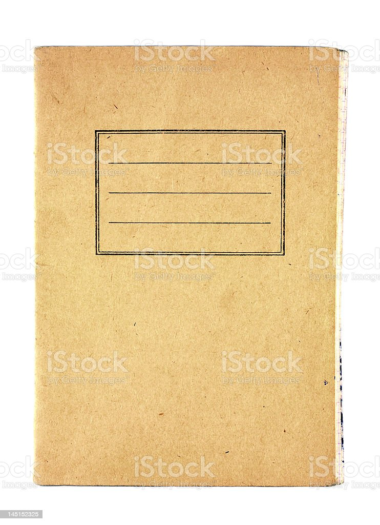 Old notebooks royalty-free stock photo