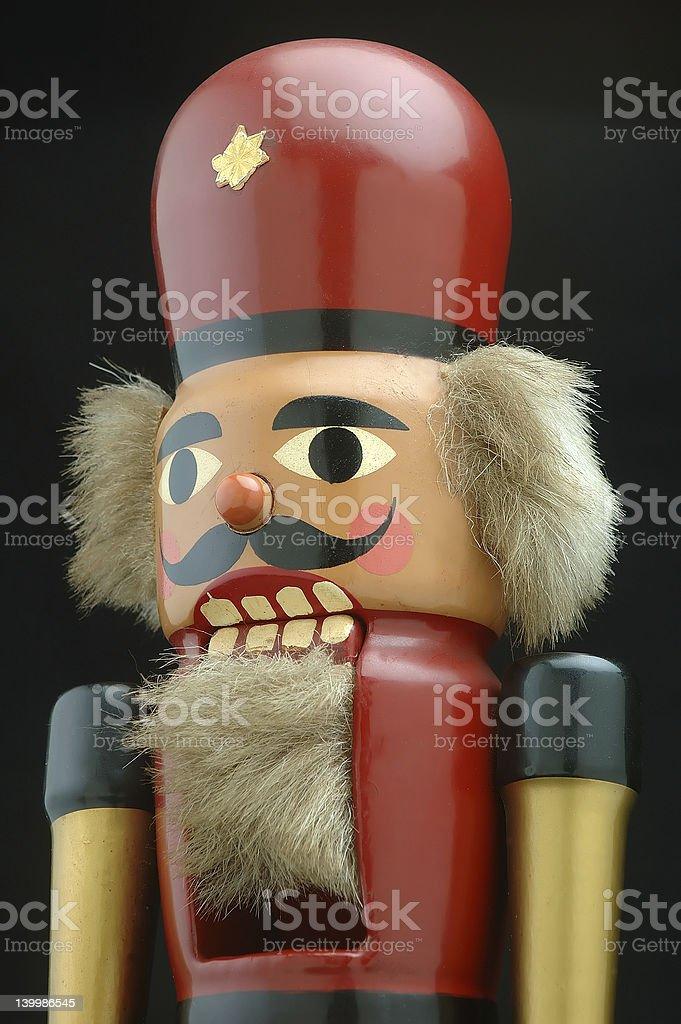Old Nutcracker royalty-free stock photo