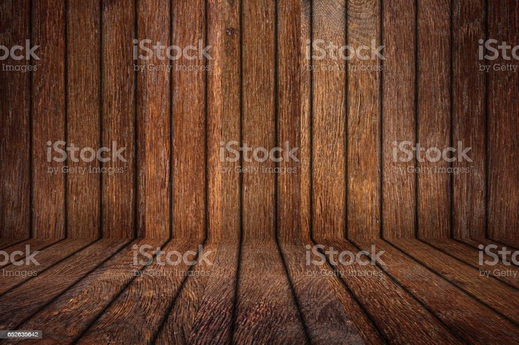 old oak empty wooden room stock photo