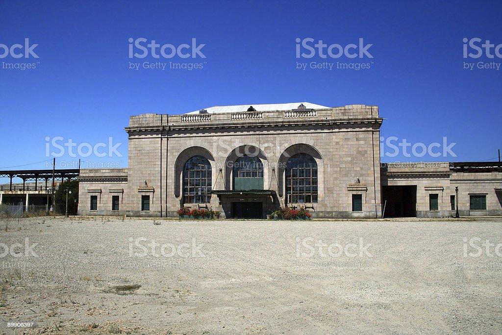 Old Oakland train terminal stock photo