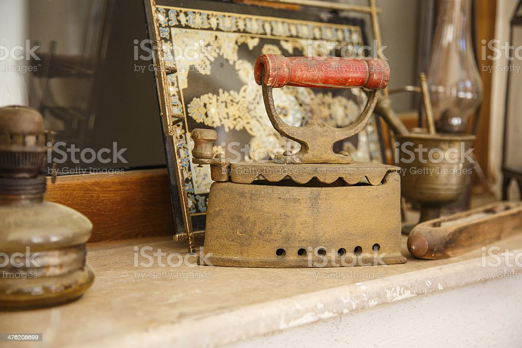old objects stock photo