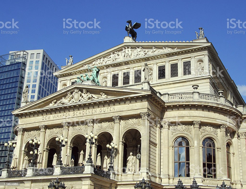 Old Opera House royalty-free stock photo