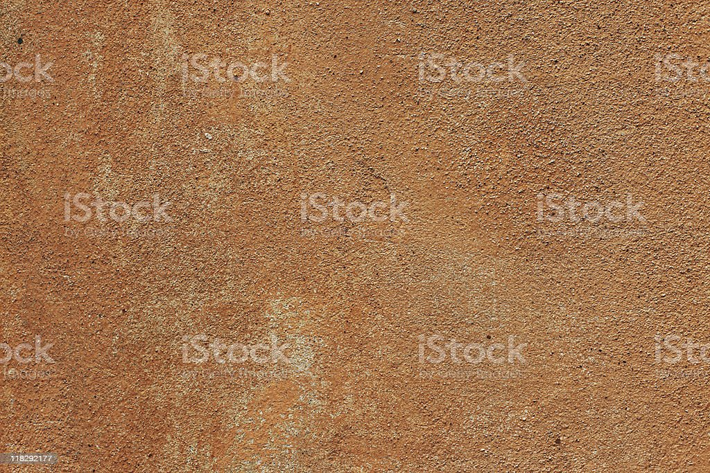 Old, orange and brown grunge wall texture (XXXL) royalty-free stock photo