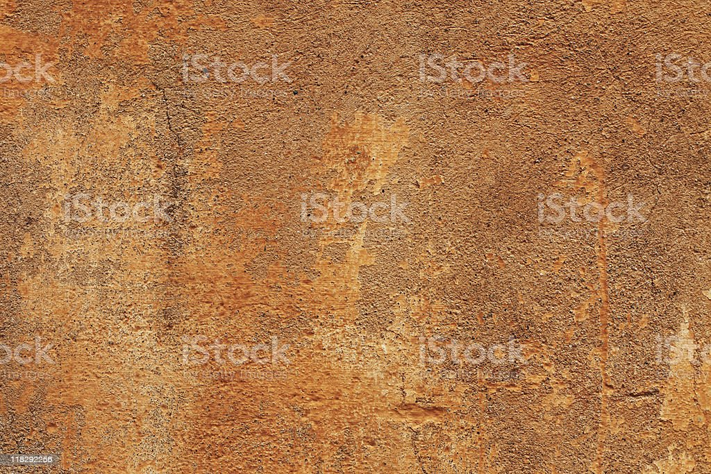 Old orange and brown  Italian wall texture royalty-free stock photo