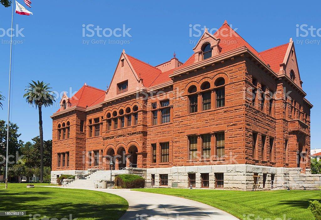 Old Orange County Courthouse royalty-free stock photo