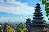 Old oriental temple