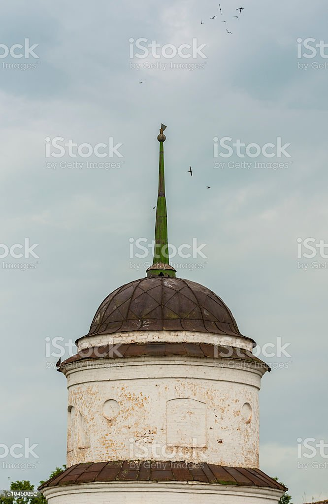 Old Orthodox Dome stock photo