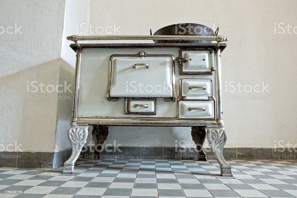 Old Oven royalty-free stock photo
