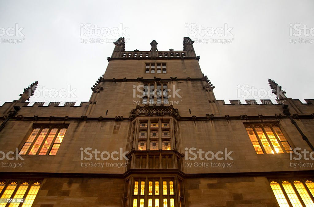Old Oxford house stock photo