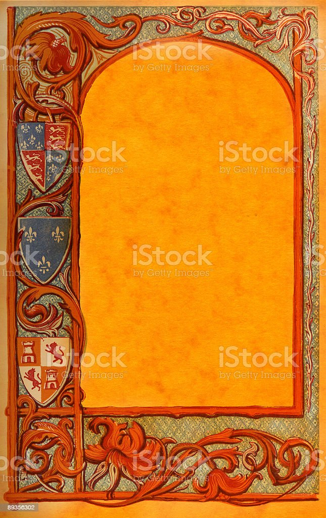 Old Page from Book royalty-free stock photo