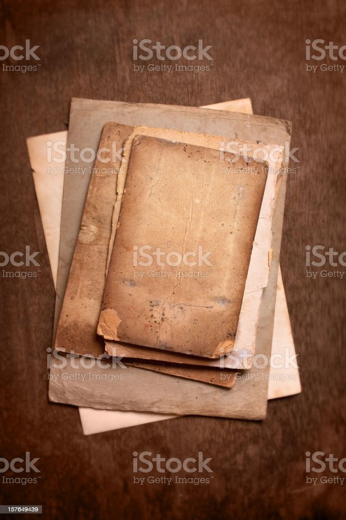 Old pages royalty-free stock photo
