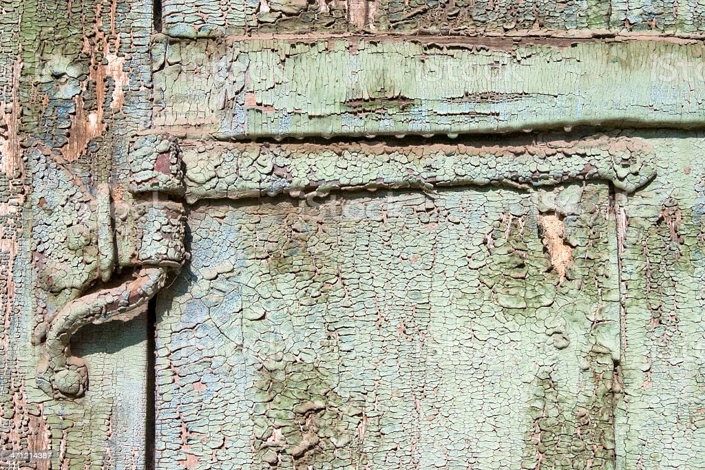 Old paint on a board. royalty-free stock photo