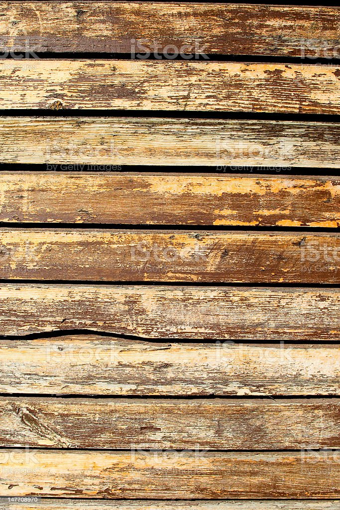 Old painted planks royalty-free stock photo