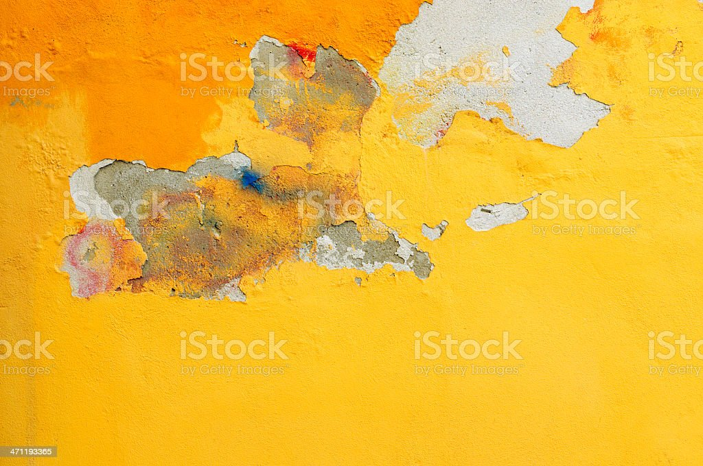 Old painted wall royalty-free stock photo