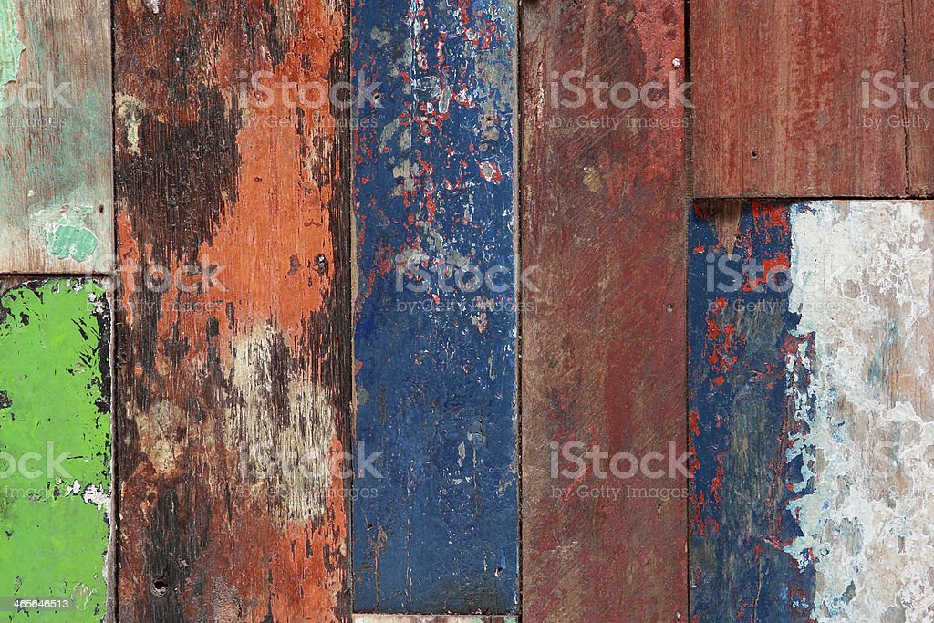 Old painted wood texture royalty-free stock photo
