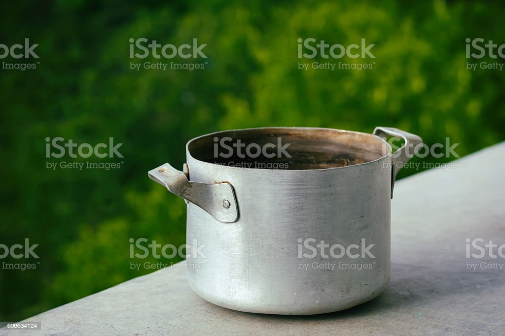 Old pan stock photo