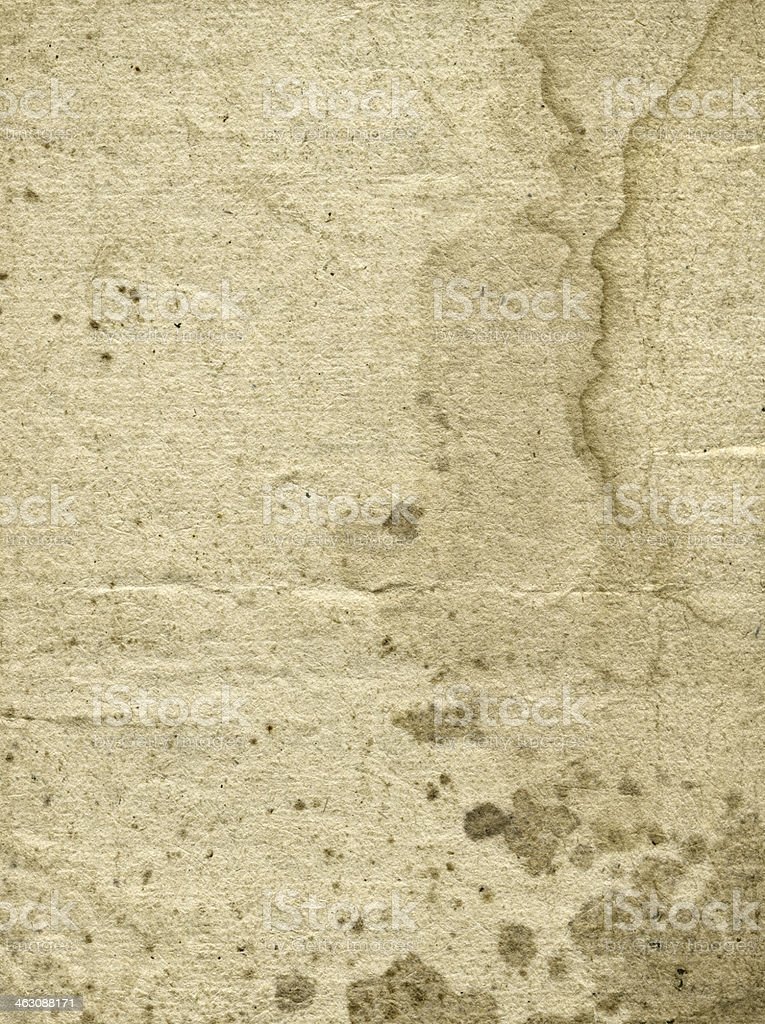 Old paper 1640 royalty-free stock photo