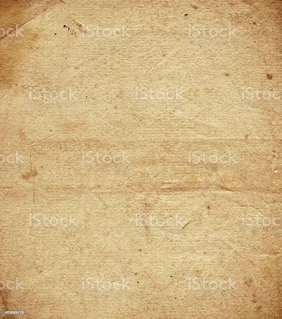 Old paper 1650's royalty-free stock photo