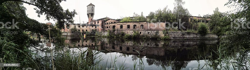 old Paper Factory stock photo