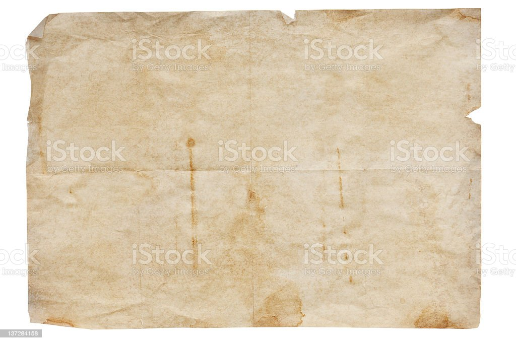 Old paper great as a background . royalty-free stock photo