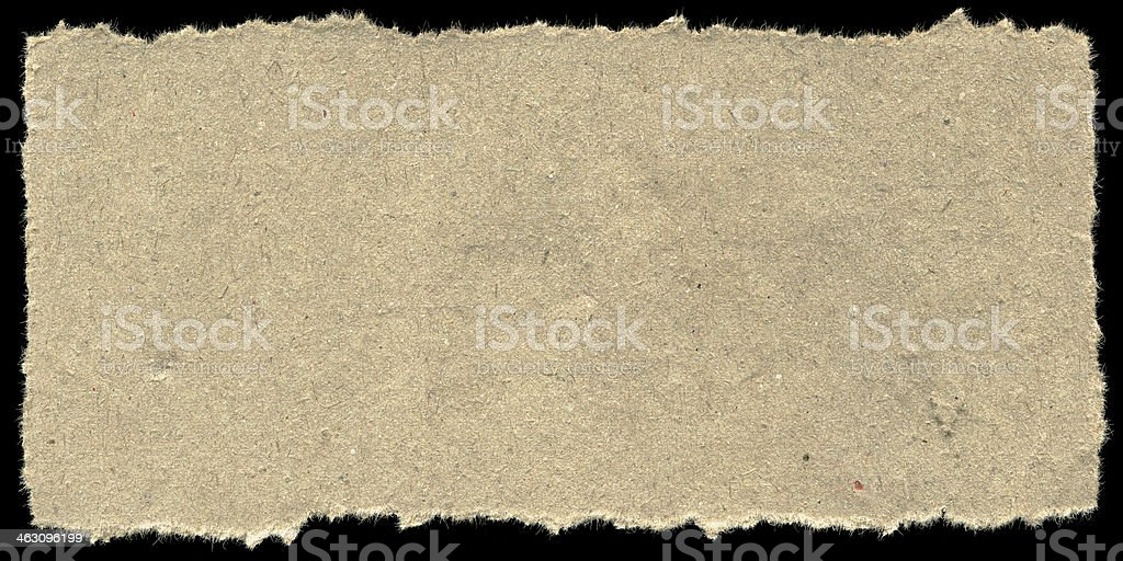 Old paper on black background royalty-free stock photo