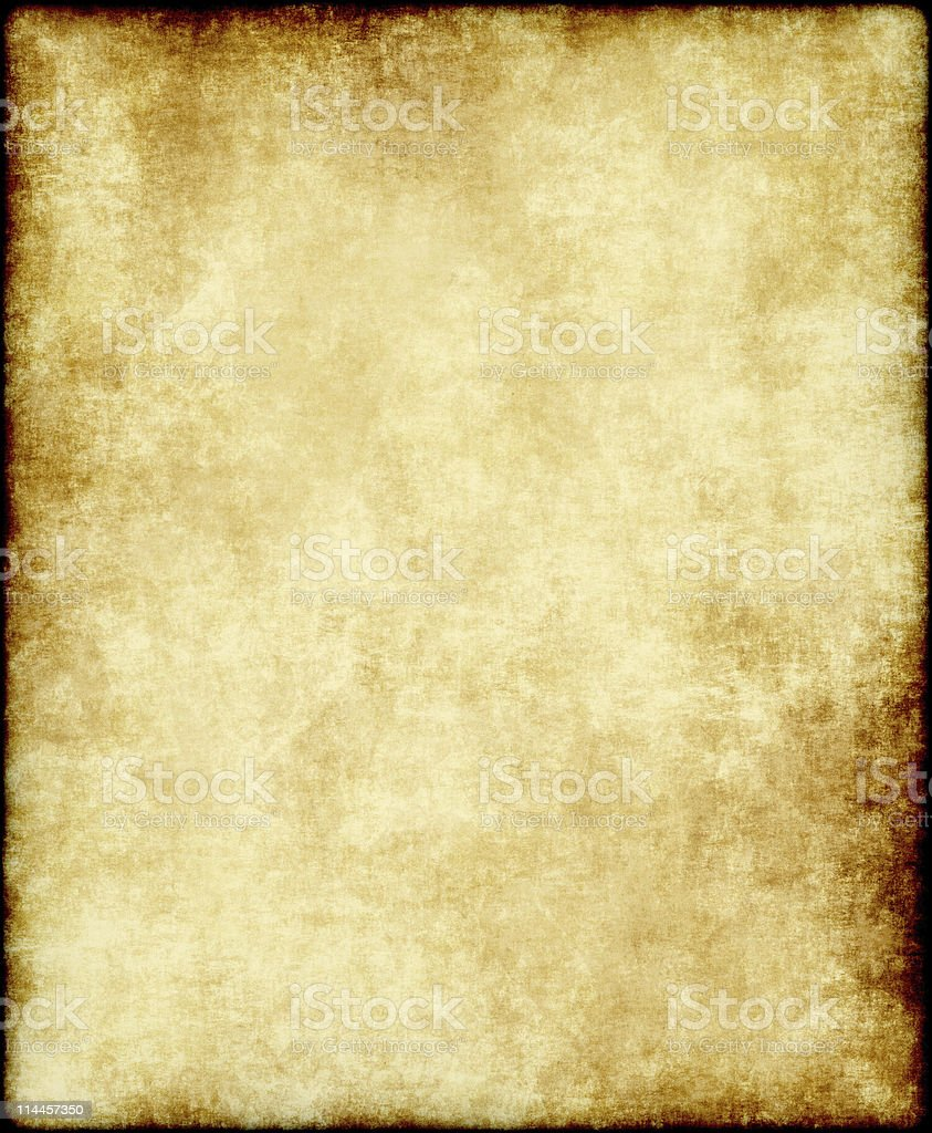 old paper or parchment royalty-free stock photo