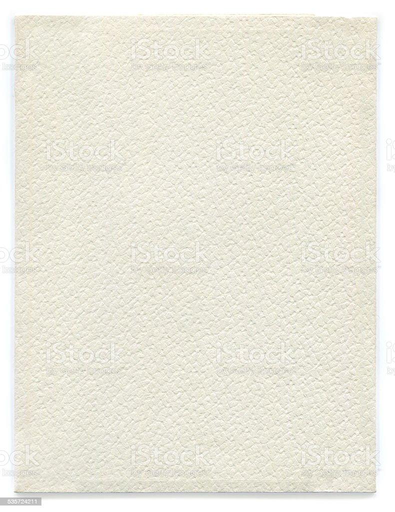 Vecchia carta (incluso il clipping path) foto stock royalty-free