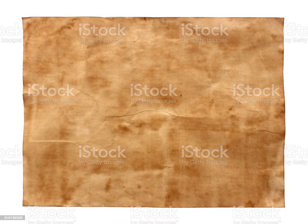 old paper sheet background stock photo