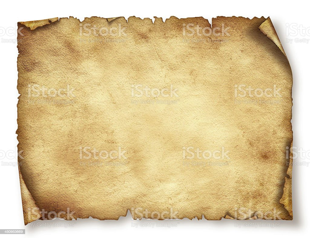 Old paper sheet. Original background or texture royalty-free stock photo