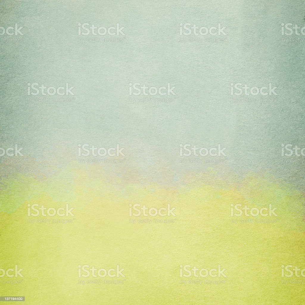 Old Paper Texture Watercolored royalty-free stock photo