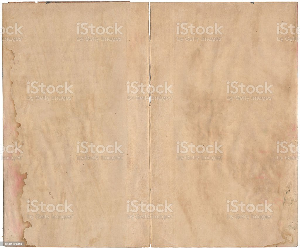 Old paper with dark edges. stock photo