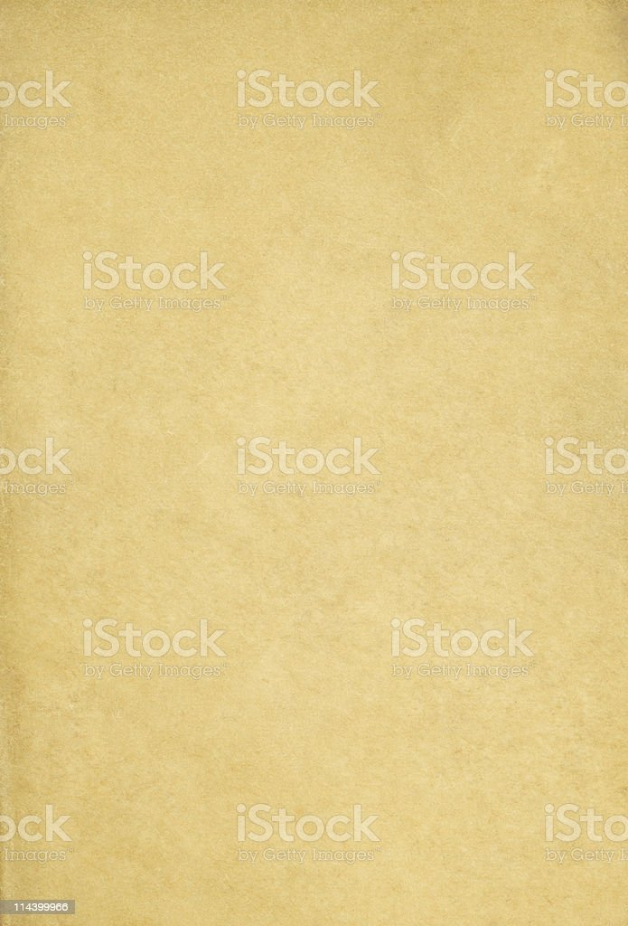 Old paper with foxing royalty-free stock photo