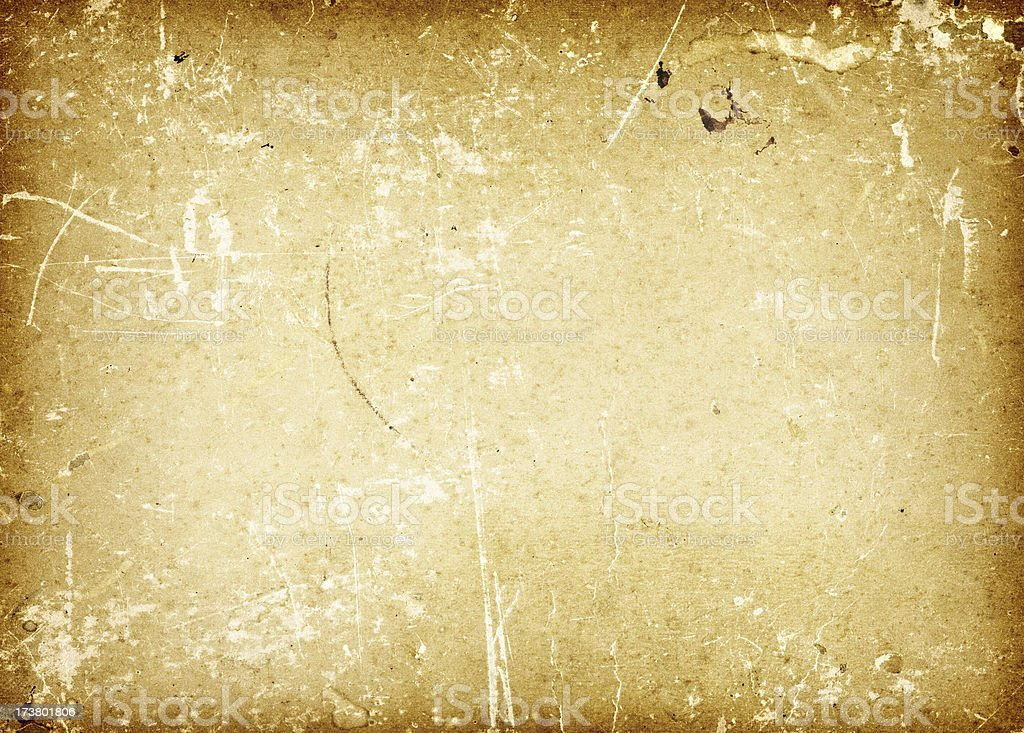 old paper with grunge feeling royalty-free stock photo