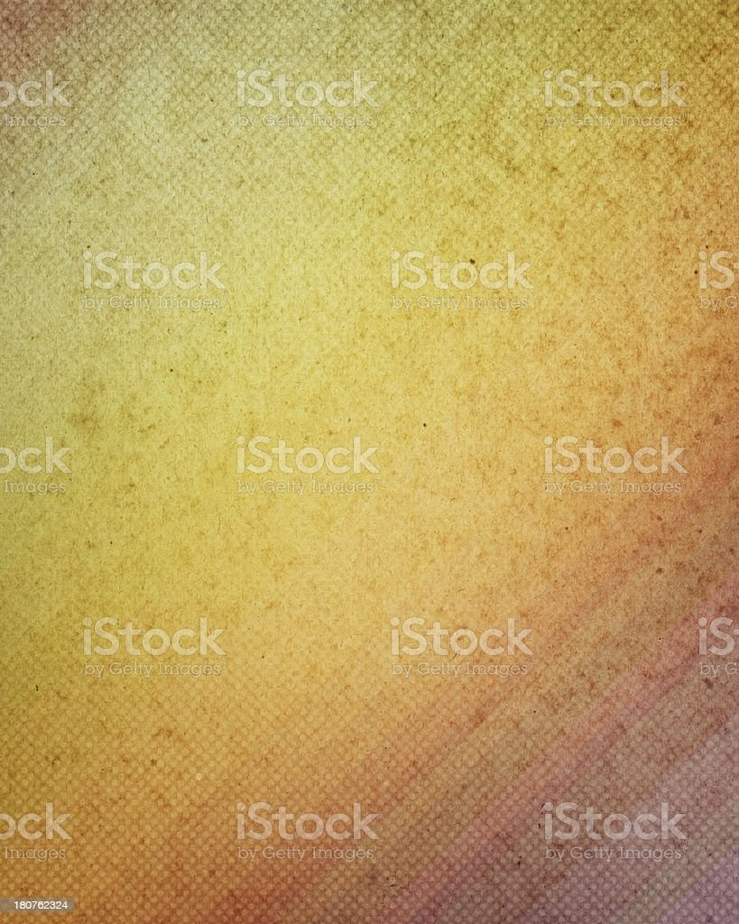 old paper with halftone color gradient royalty-free stock photo