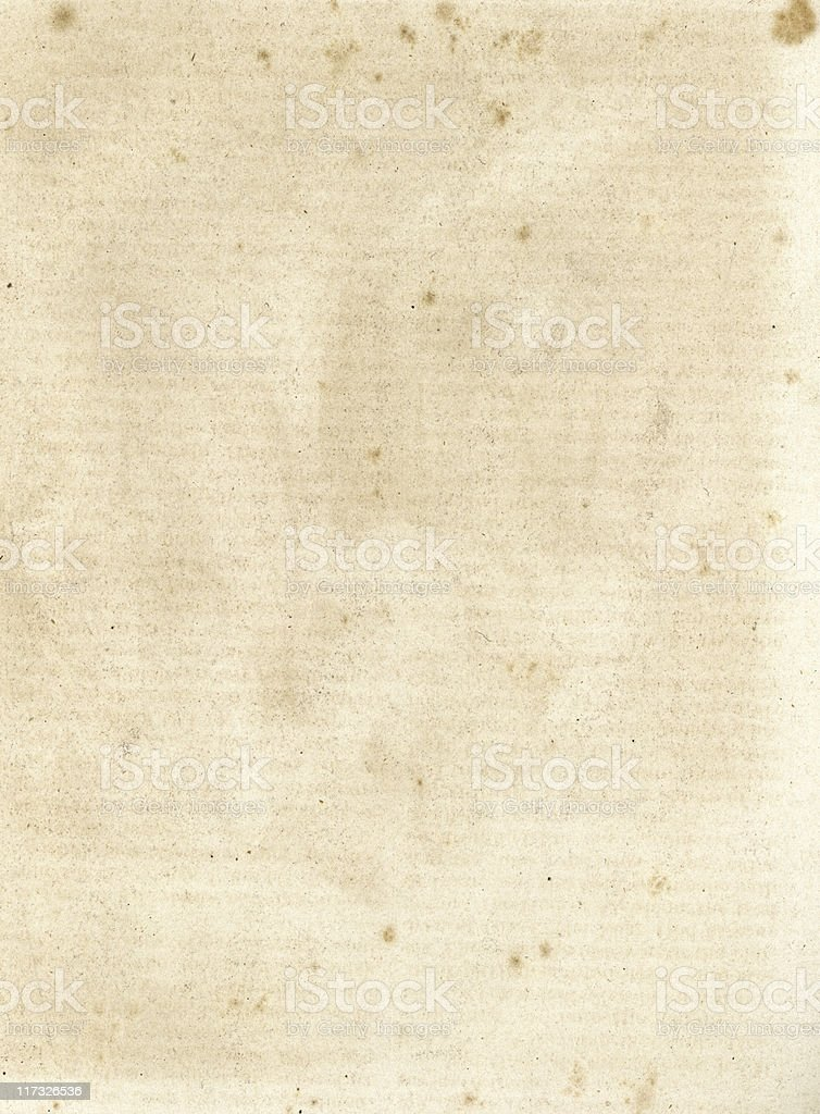 Old paper with lined watermark stock photo