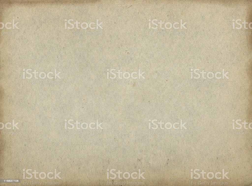 Old paper with stained edges royalty-free stock photo