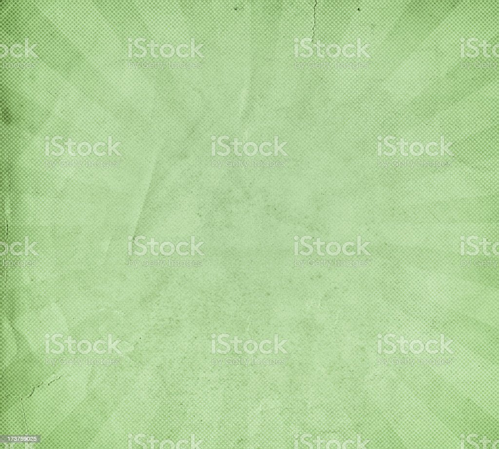 old paper with starburst and halftone royalty-free stock photo