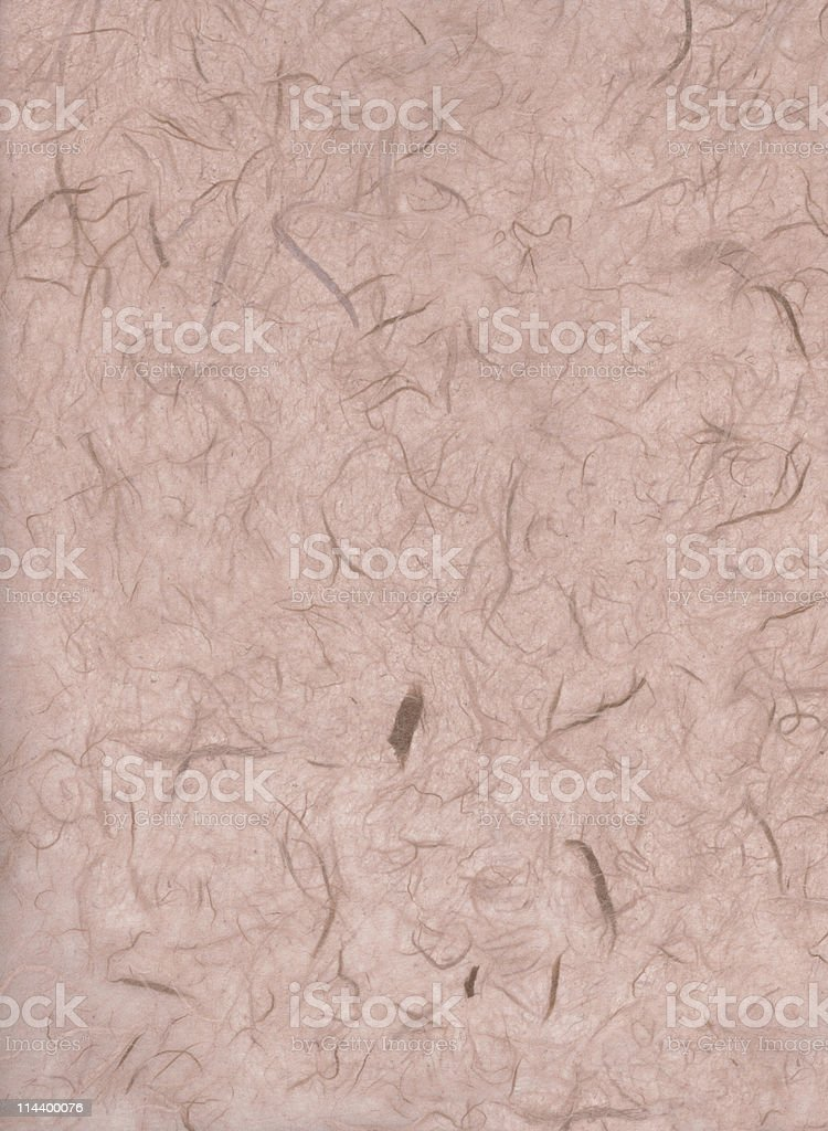 Old paper with texture and fibres royalty-free stock photo