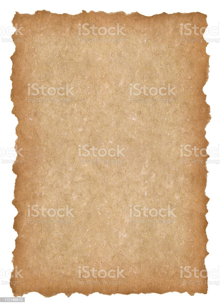 Old paper XXL royalty-free stock photo