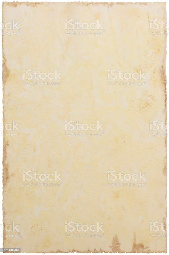 Old paper XXXL royalty-free stock photo
